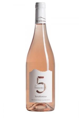 Les 5 Terroirs Rosé Wine 2019