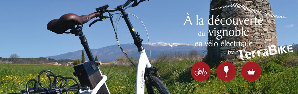 Location de vélo électrique - TerraBike